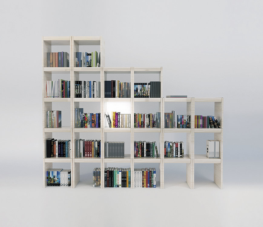 Smart AI Modular Bookshelf | Red Dot Design Award