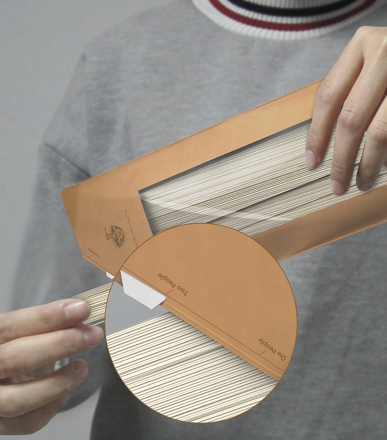 Measuring Noodles Bag | Red Dot Design Award