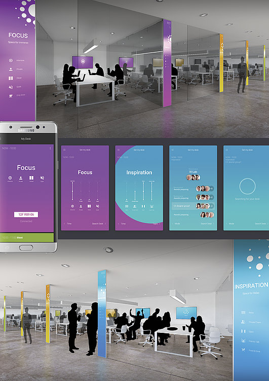 Hybrid Workspace | Red Dot Design Award