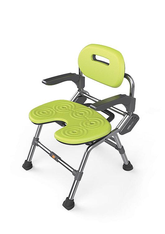Bath Chair with Adjustable Backrest | Red Dot Design Award