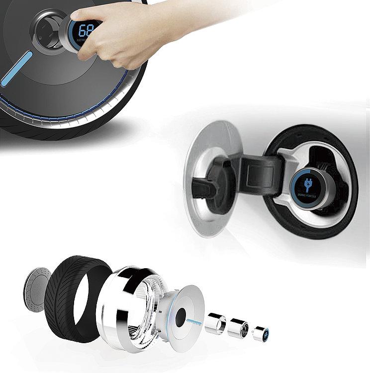 Wheel Battery | Red Dot Design Award