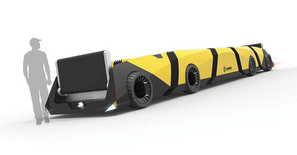 The ABT (Autonomous Baggage Train) | Red Dot Design Award