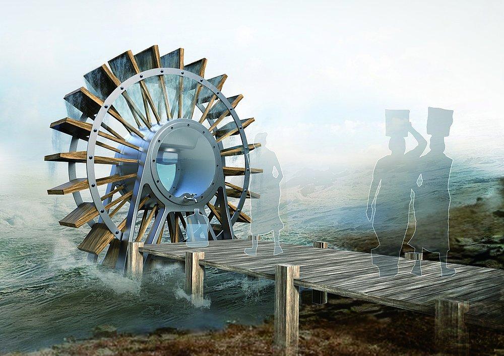 Waterwheel Filter | Red Dot Design Award