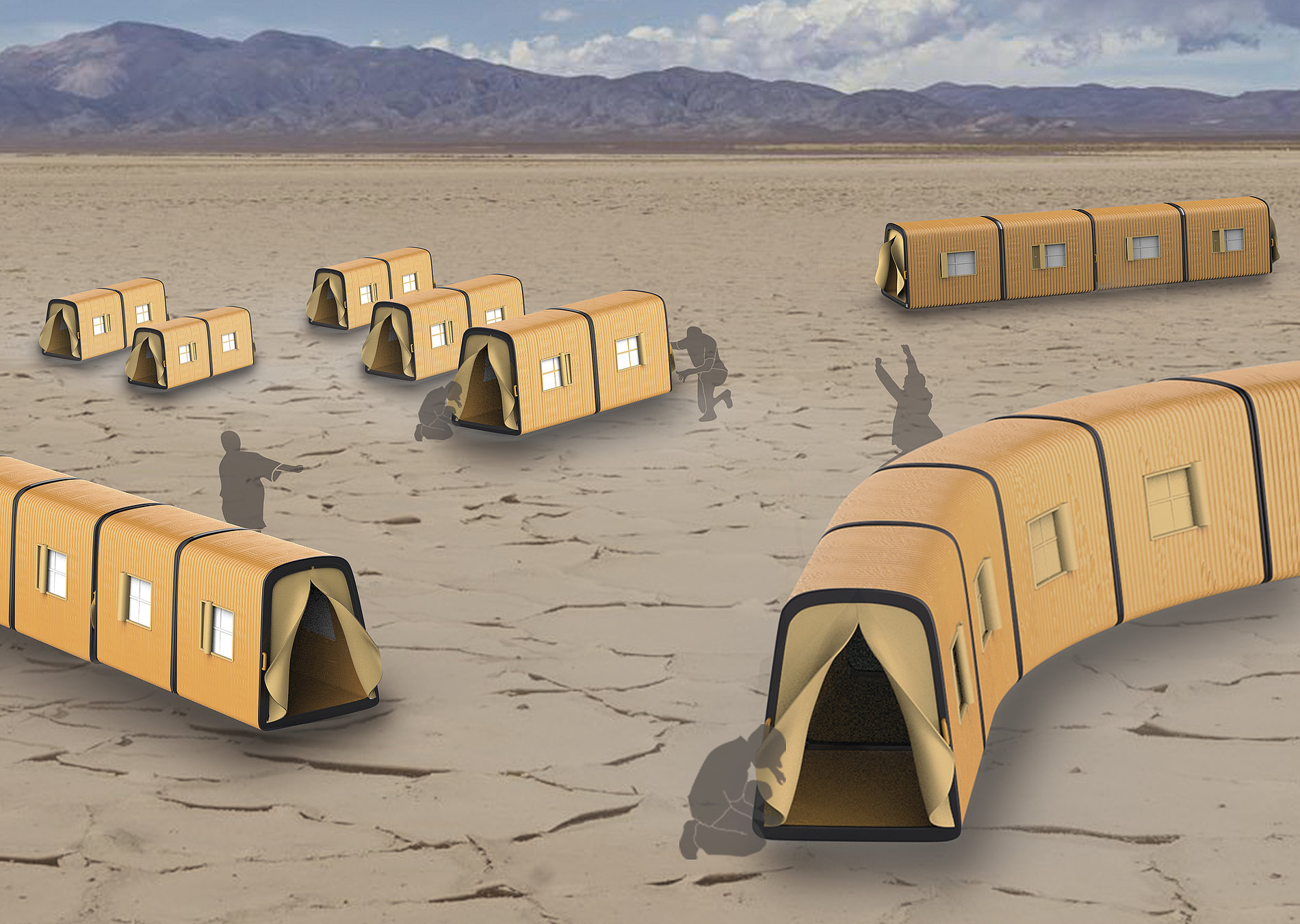 Telescopic Tent   Red Dot Design Award