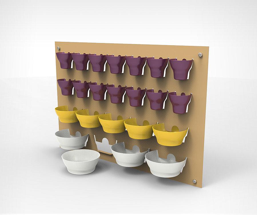 2D Storage Rack | Red Dot Design Award