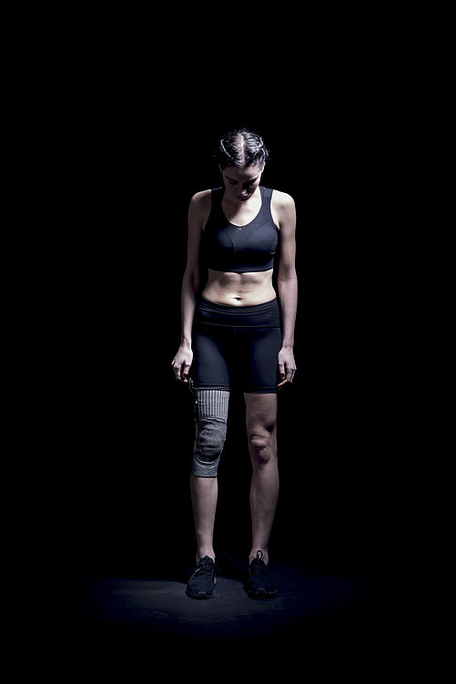 3D Heat Conductive Knee Sleeve | Red Dot Design Award