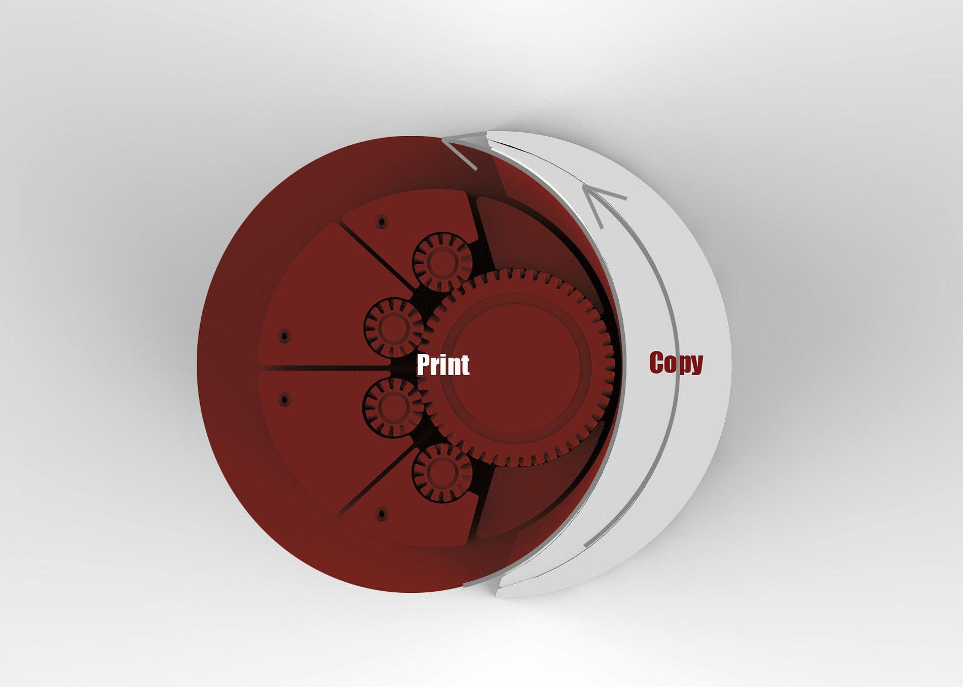 Vertical Type Printer   Red Dot Design Award