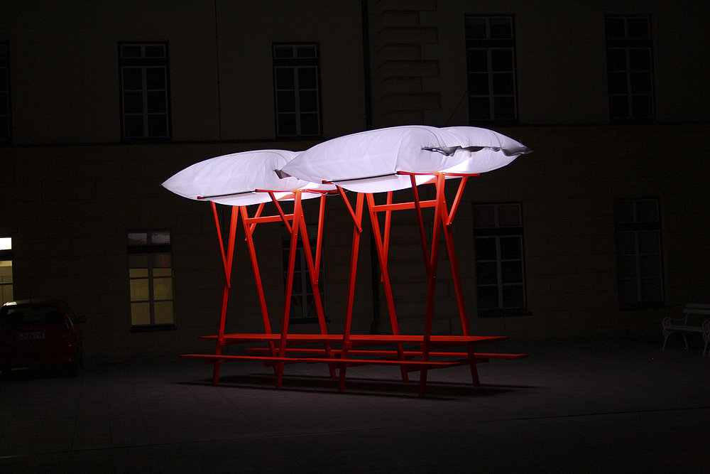 Take A Seat, Canopy Table | Red Dot Design Award