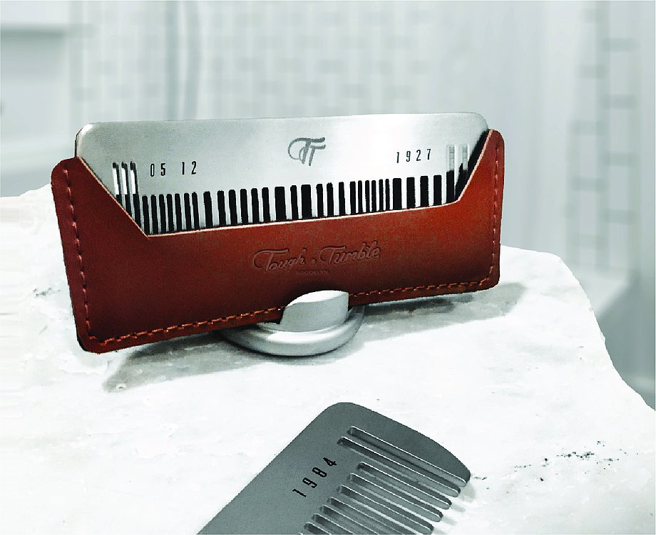 THE BARCODE - T&T Metal Comb   Red Dot Design Award