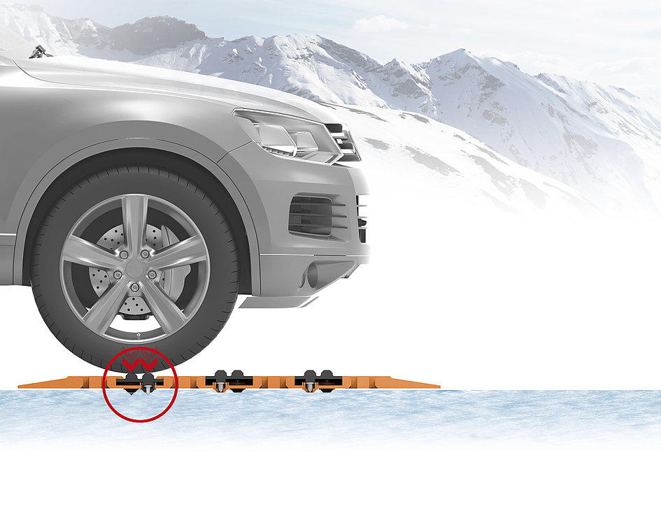 Portable TPR Car-rescue-track | Red Dot Design Award