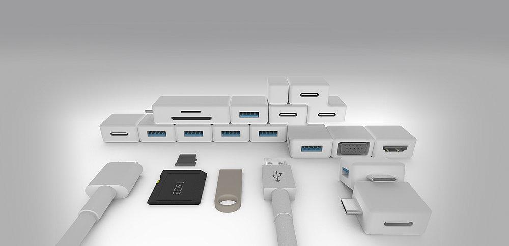 USB Brick | Red Dot Design Award