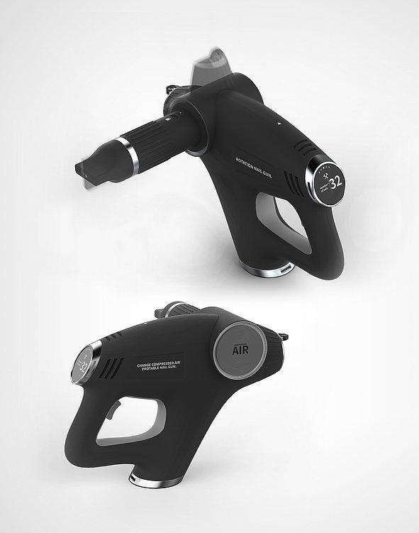 Rotation Nail Gun | Red Dot Design Award