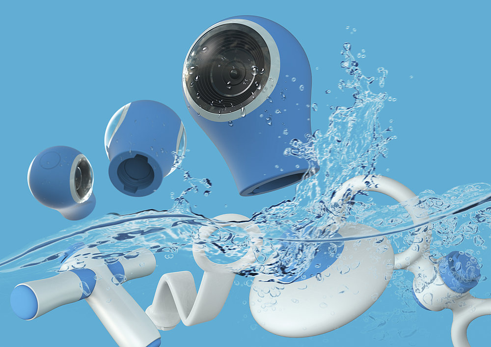 360 Underwater Toy Action Cam | Red Dot Design Award