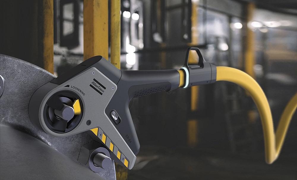Electrorun Safety Wrench - Atlas Copco | Red Dot Design Award