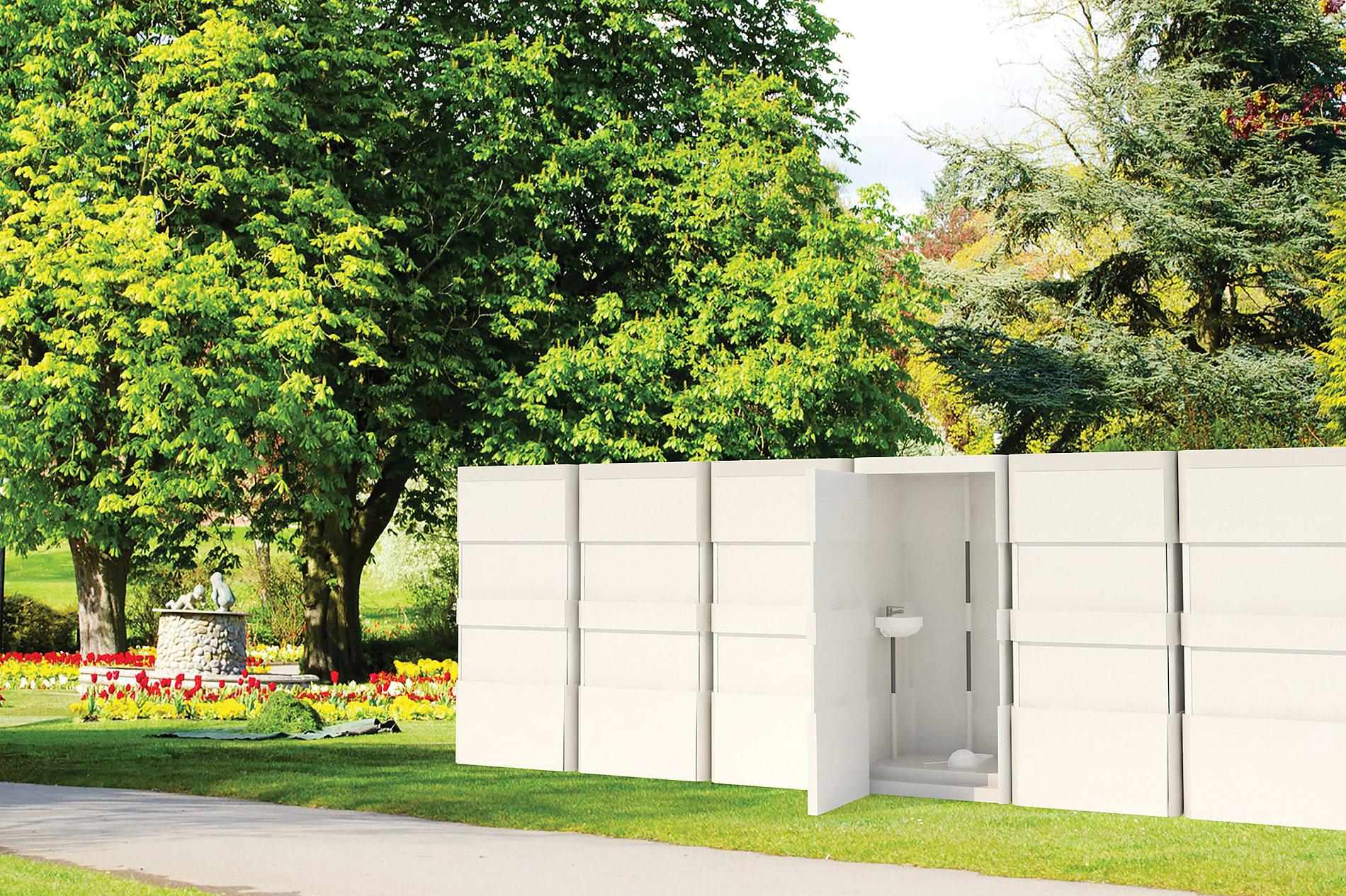 Easy Moving Mobile Toilet | Red Dot Design Award