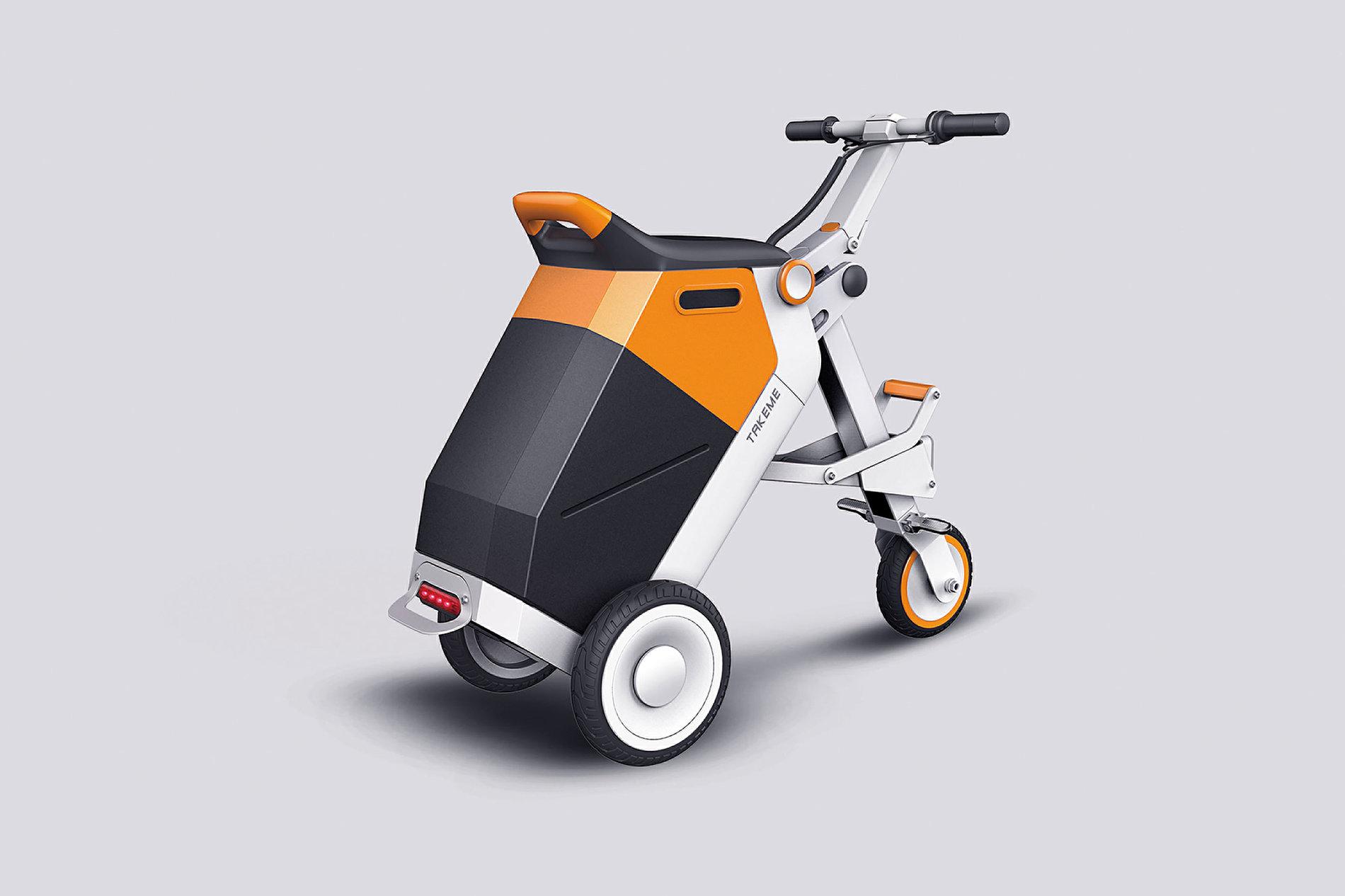 TAKEME-Electric Bike For the Elderly | Red Dot Design Award