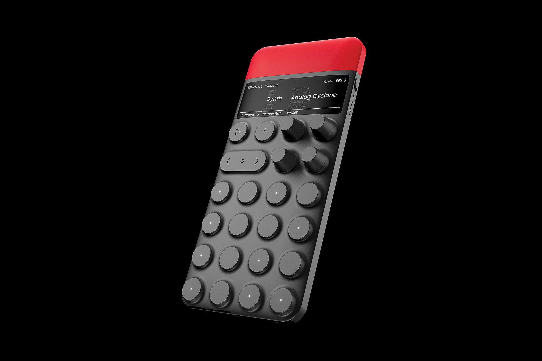 ZONT Pocket Synthesizer | Red Dot Design Award