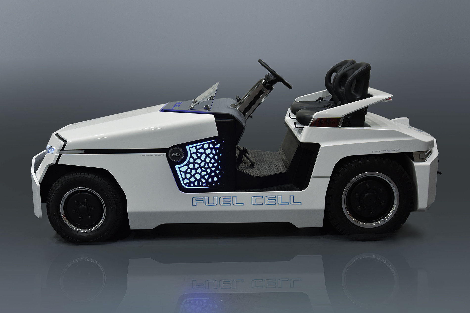 Fuelcell Towing Tractor | Red Dot Design Award