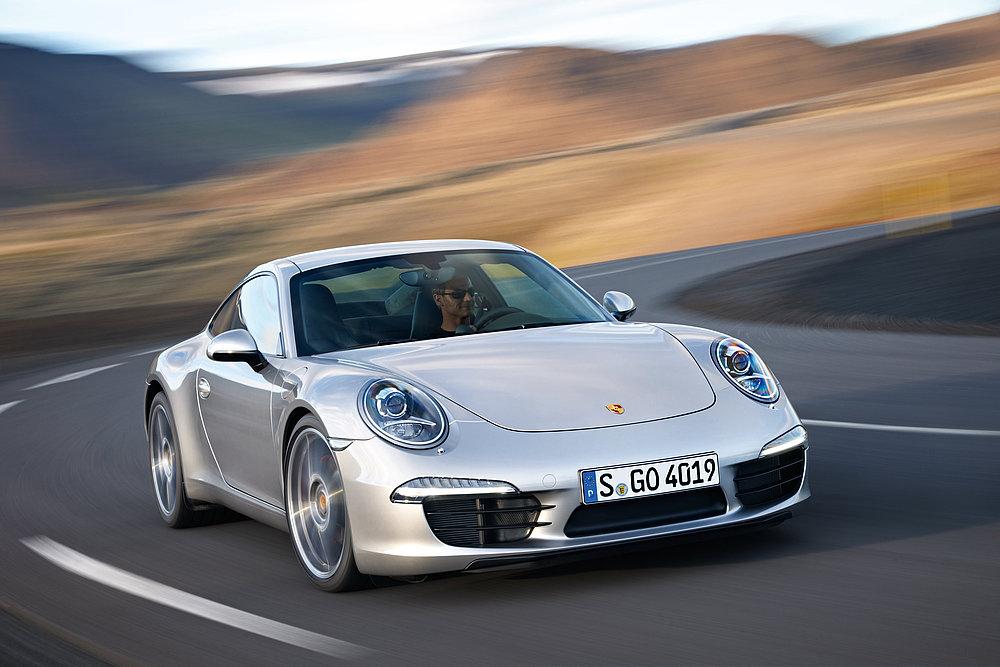 Red Dot Design Award Porsche 911 Carrera
