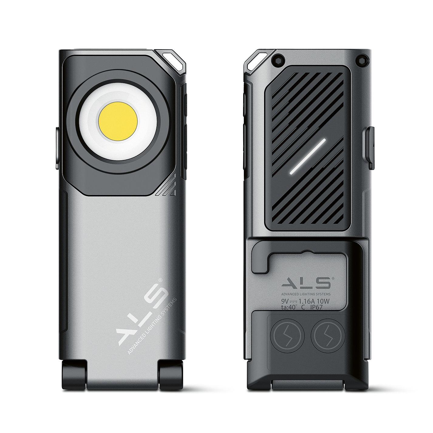 Handheld Work Light | Red Dot Design Award