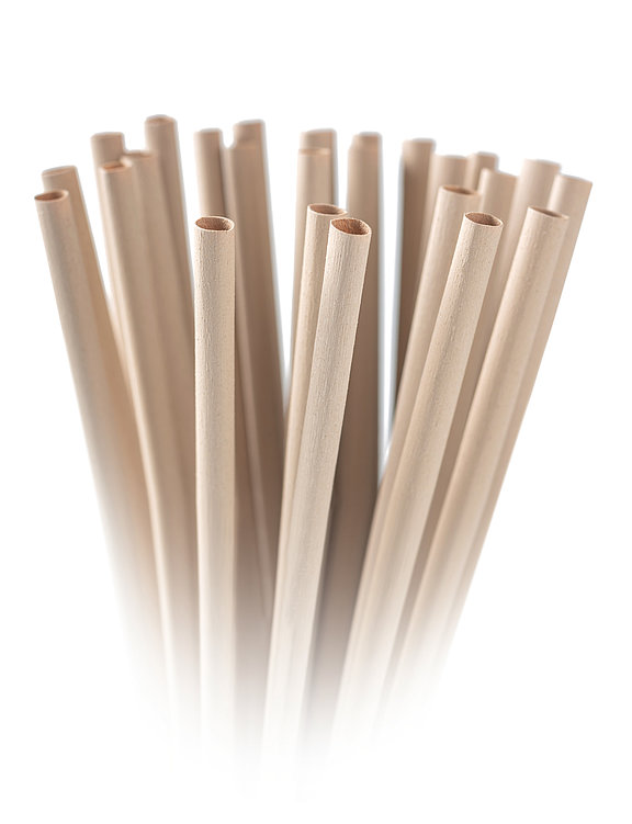 Bamboo Fibre Drinking Straws Bambusfaser-Trinkhalme | Red Dot Design Award