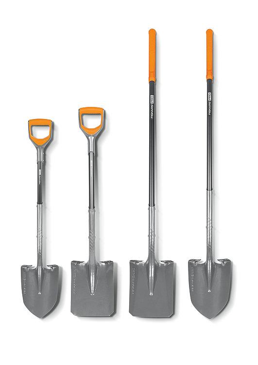 FISKARS® Pro Shovels FISKARS® Pro Schaufeln | Red Dot Design Award