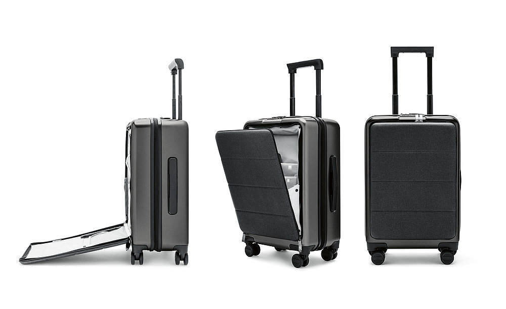Mi Luggage with Front Bag | Red Dot Design Award