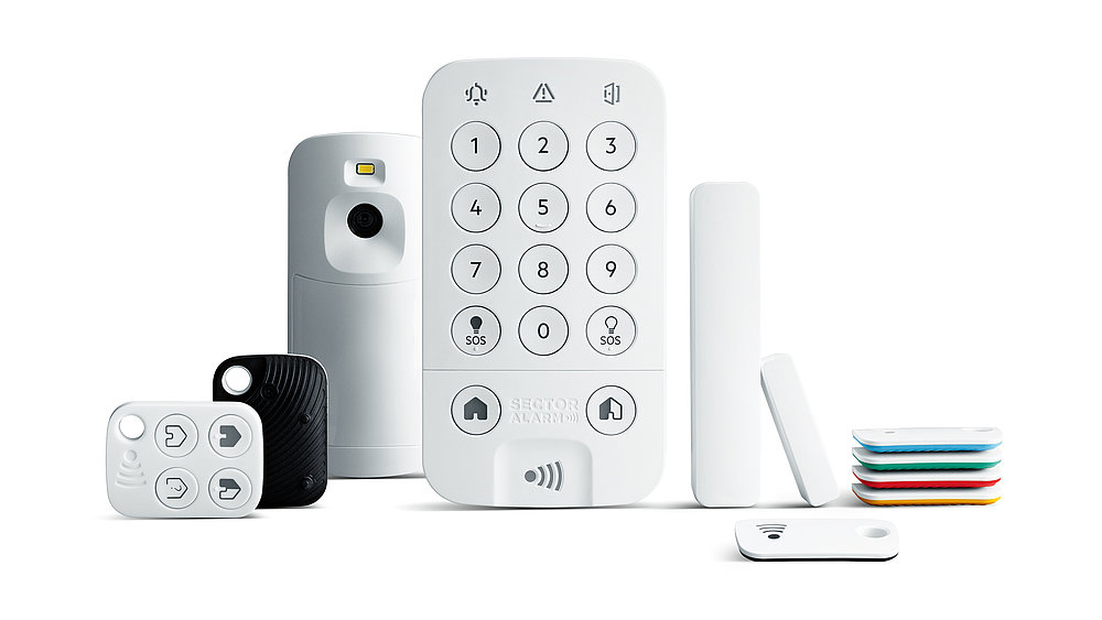 Alarm System Product Range | Red Dot Design Award