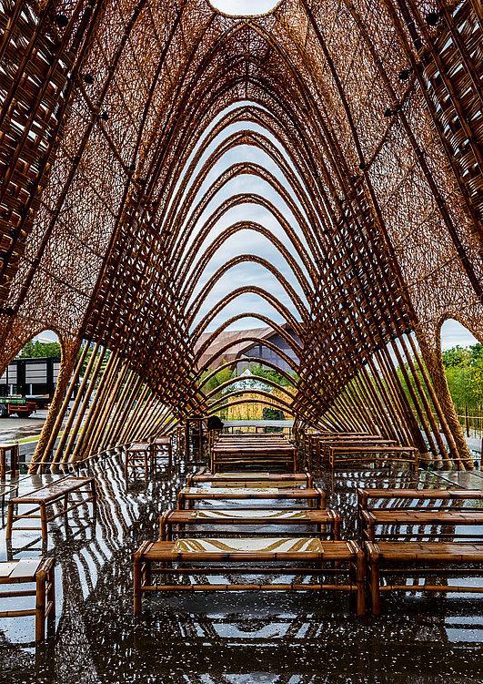Bamboo Pavilion | Red Dot Design Award