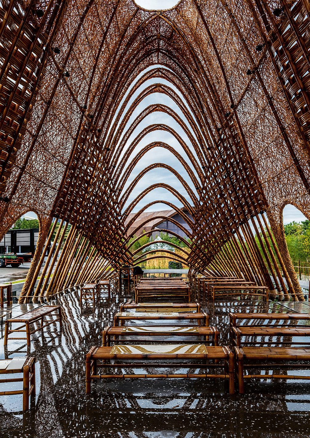 Bamboo Pavilion   Red Dot Design Award