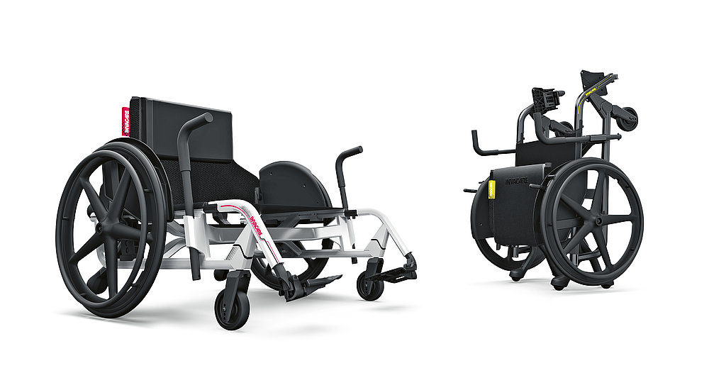 Invacare Bariatric Wheelchair | Red Dot Design Award