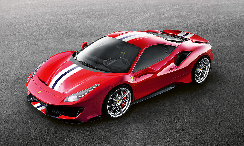 Ferrari 488 Pista | Red Dot Design Award