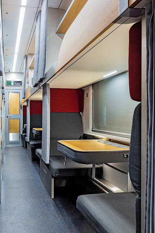Russian Railways Second-Class Night Train | Red Dot Design Award