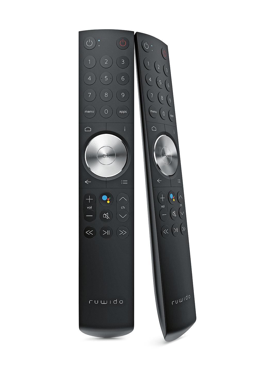 r157.7 androidtv remote control   Red Dot Design Award
