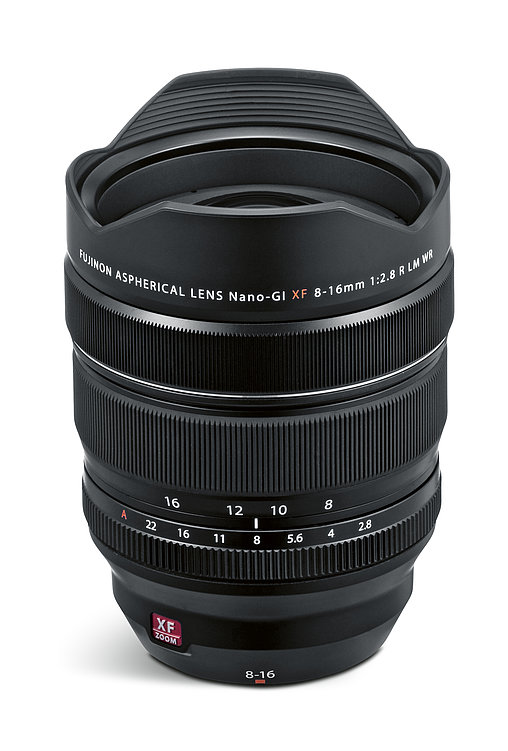 Fujinon Lens XF8-16mm F2.8 R LM WR | Red Dot Design Award