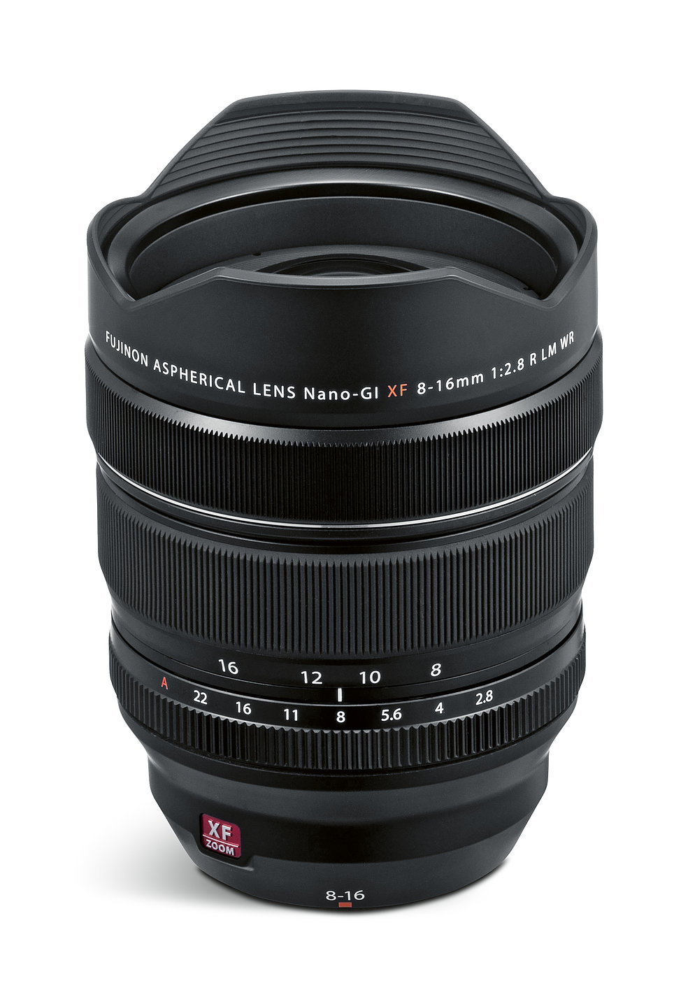 Fujinon Lens XF8-16mm F2.8 R LM WR | Red Dot Design Award