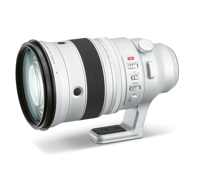 Fujinon Lens XF200mm F2 R LM OIS WR | Red Dot Design Award