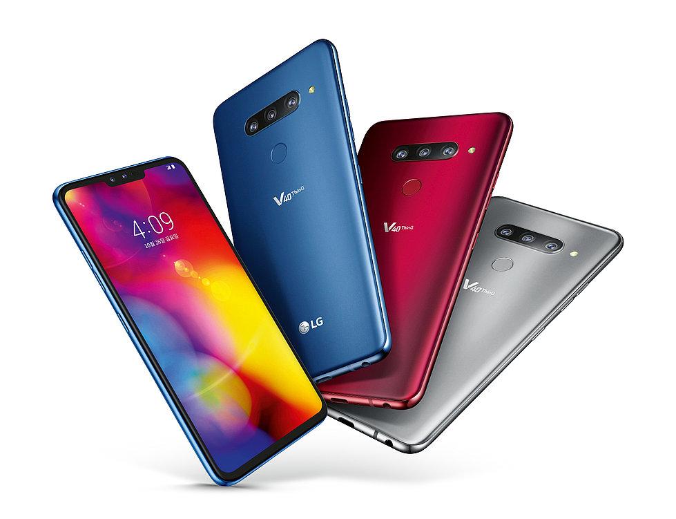 LG V40 ThinQ | Red Dot Design Award