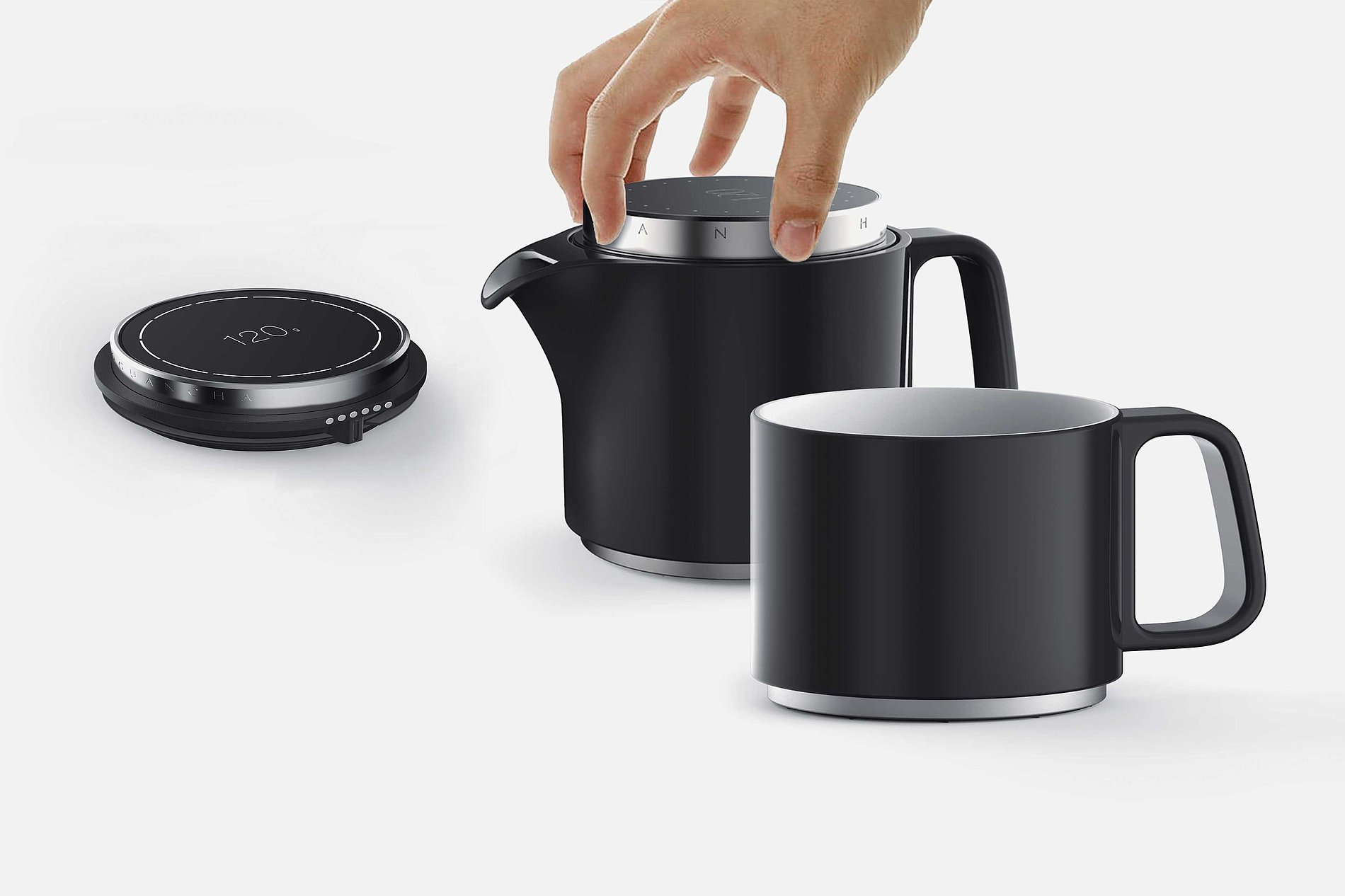 Electronic Timer version Tea Set of Xiaoguan Tea | Red Dot Design Award
