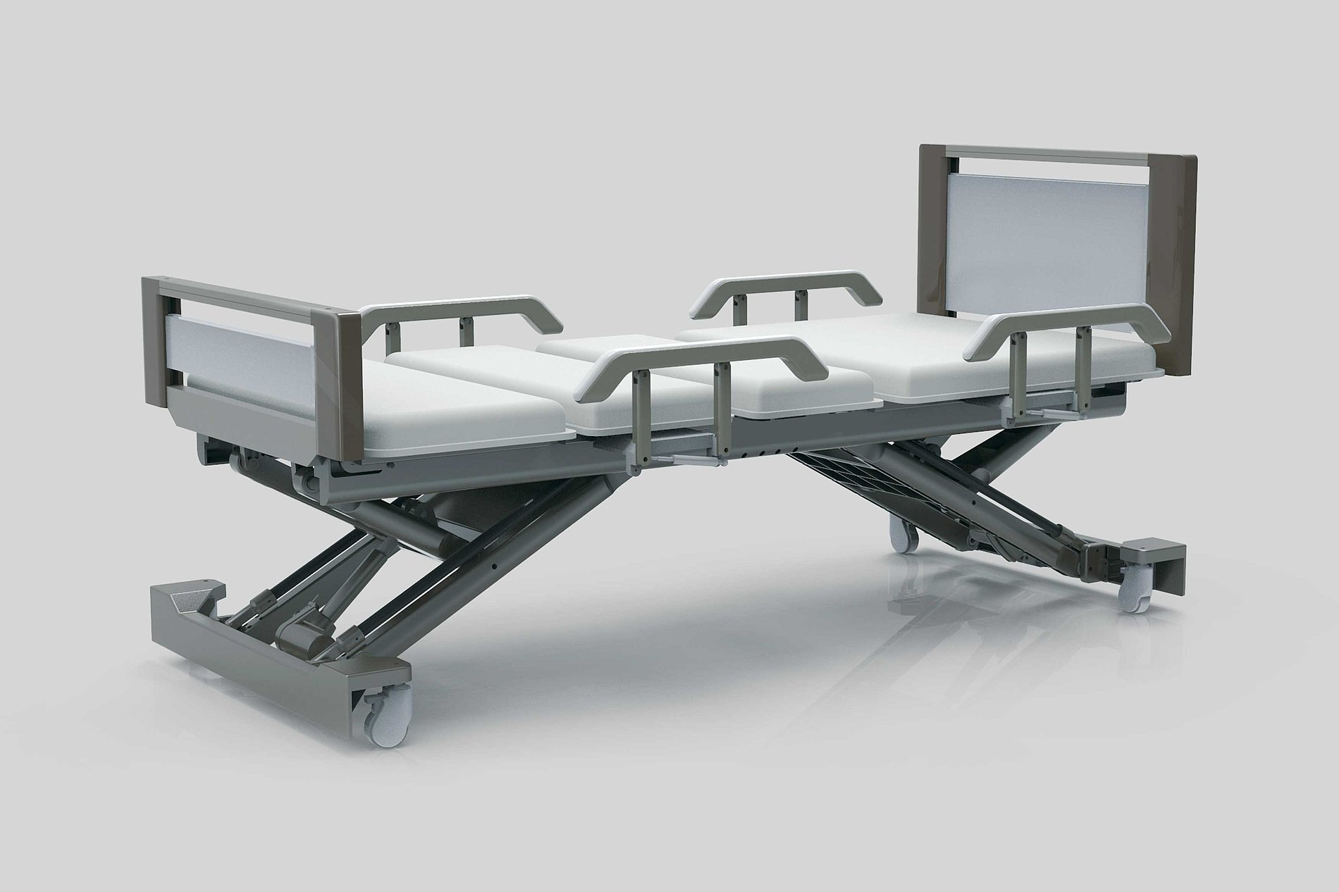 Multifunctional Medical Nursing Bed | Red Dot Design Award