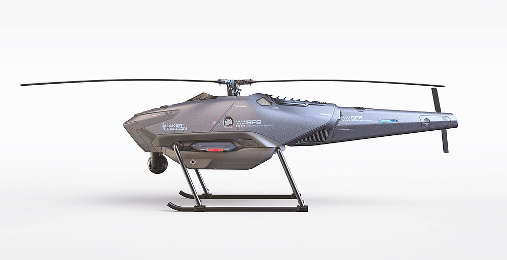 UAV-SF8A | Red Dot Design Award