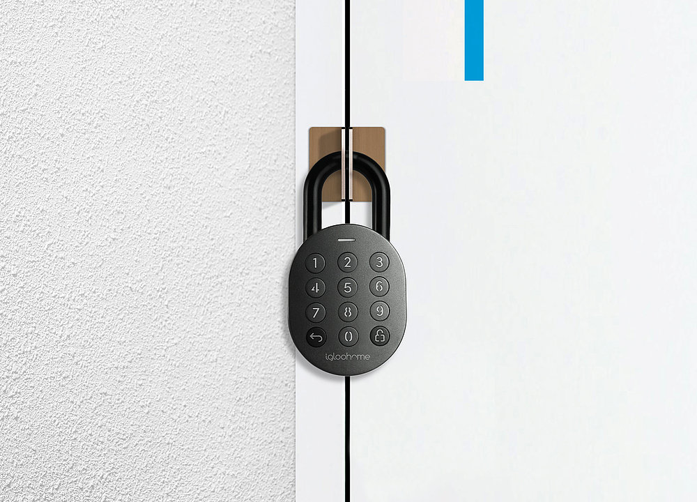 igloohome Smart Padlock | Red Dot Design Award