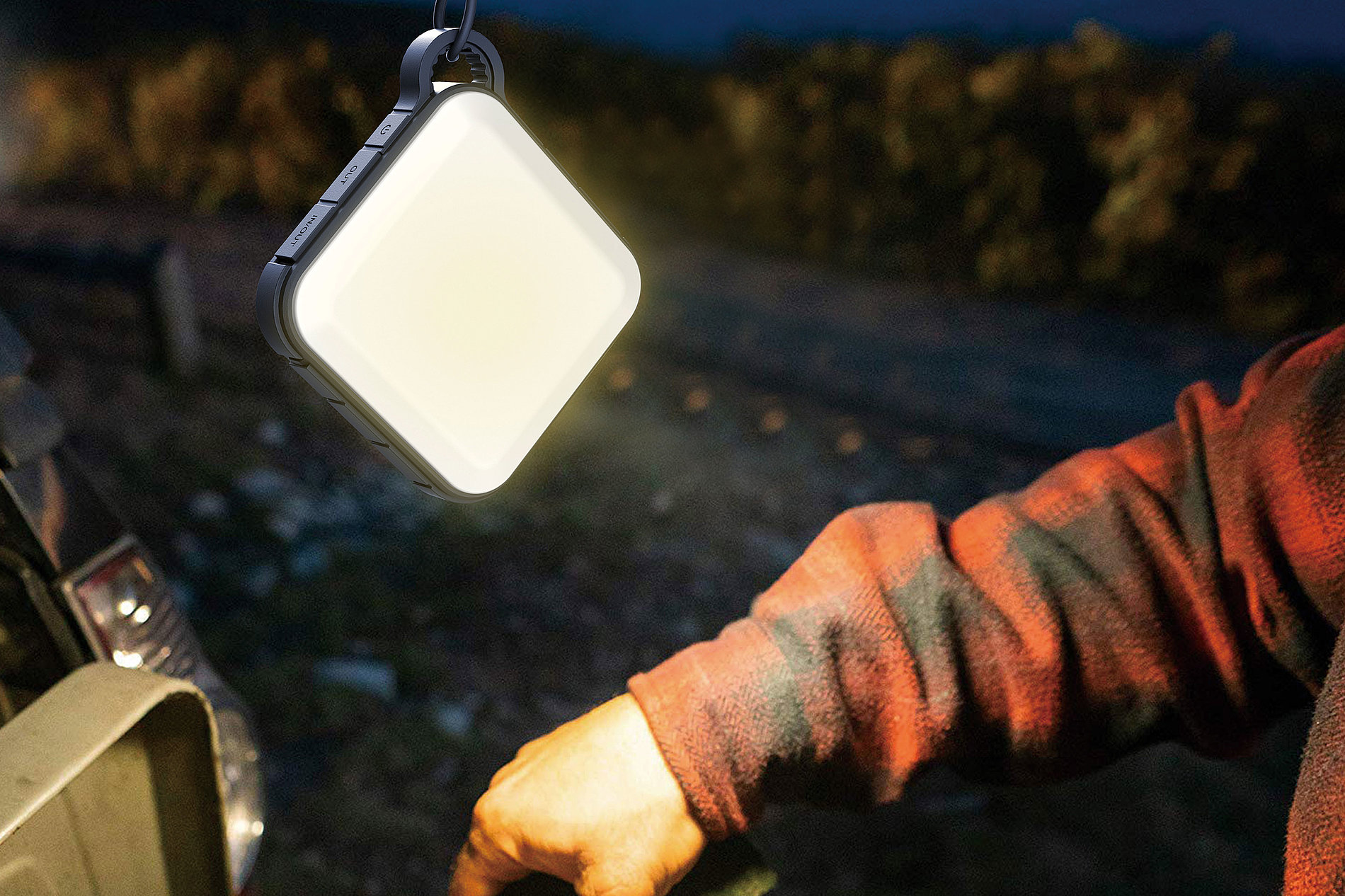 Portable Camping Light Power Bank | Red Dot Design Award