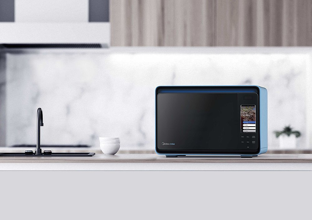 Mike – Smart Microwave Oven | Red Dot Design Award