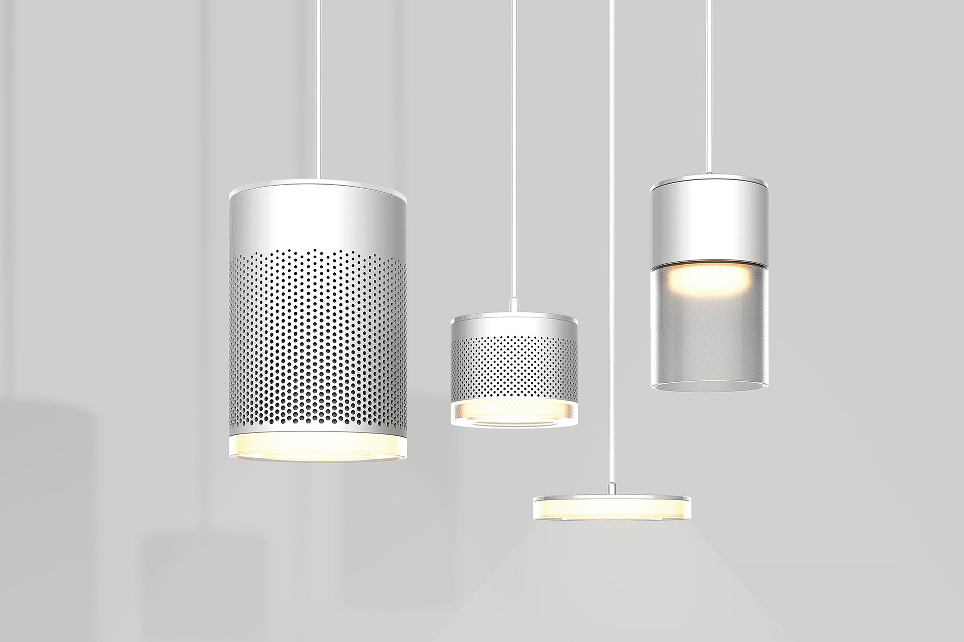 Suspended Type Air Purification Light | Red Dot Design Award