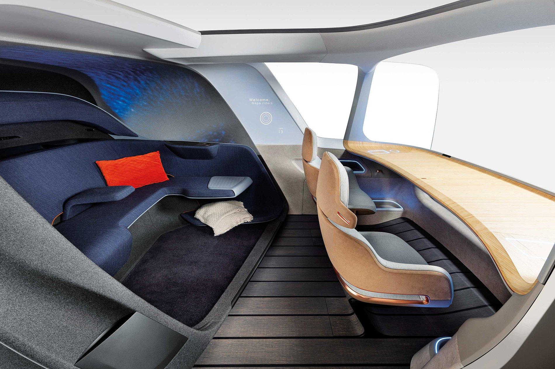 XiM20 - An Autonomous Ride-Share Interior | Red Dot Design Award
