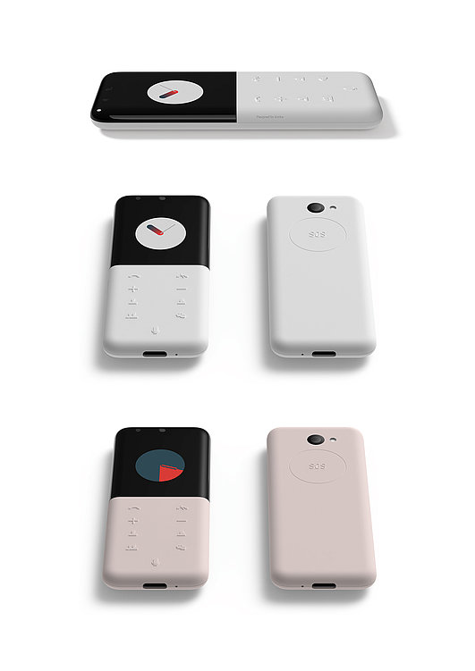 AI Voice Service In-built Mobile Phone   Red Dot Design Award