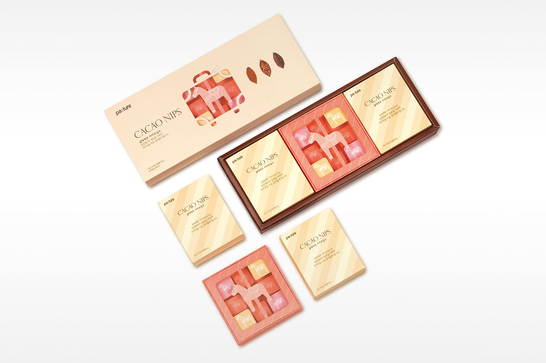 Packaging Platform Using 3D Picture Frame - Cacao Nips | Red Dot Design Award
