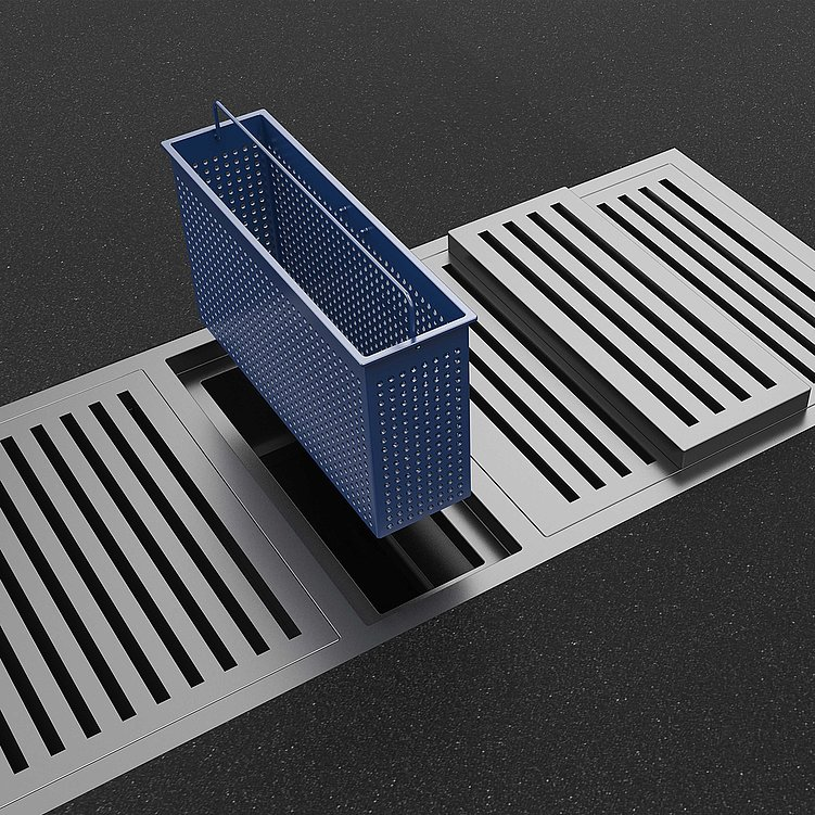 A Rainwater Grate For  Easy Cleaning | Red Dot Design Award