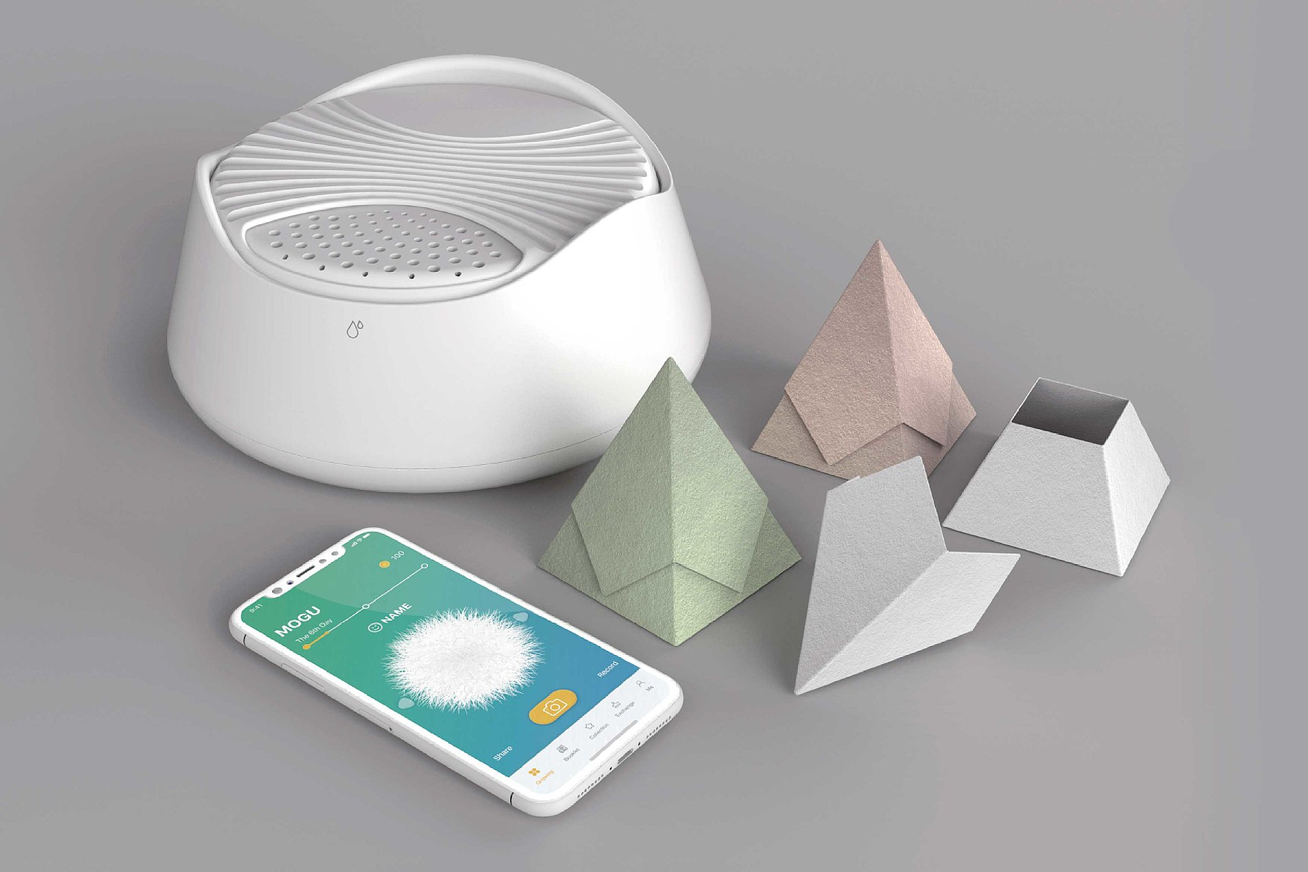 MOGU - Grow Mushrooms With Waste Paper | Red Dot Design Award